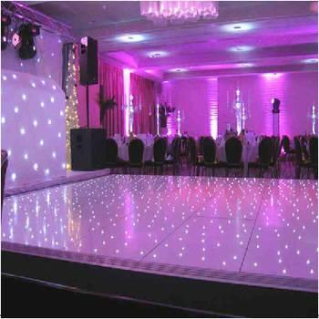 Wedding party led dancing floor dj lighting