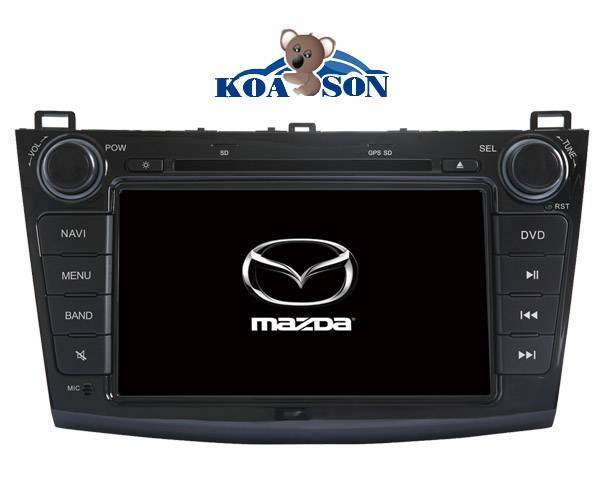 New Mazda 3 CAR DVD GPS Player with super wide 8-Inch Touch Screen/canbus(optional)/Support small sc