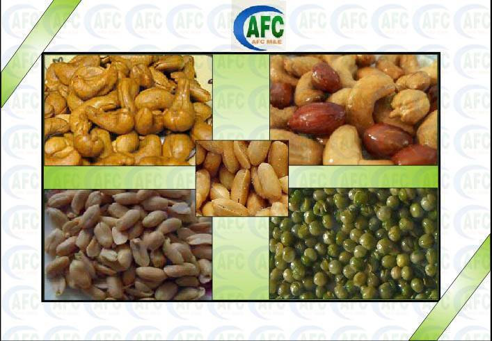 Snack Process Line---Fried Nut/Seed Machine