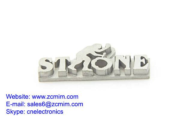 Stainless Logo Metal Charm For OEM Powder Metallurgy Products