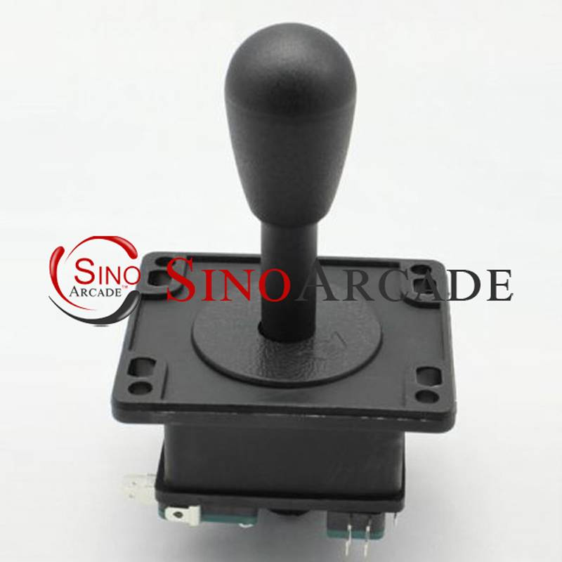 American Competition Style Arcade Jamma Game Joystick with Microswitches BLACK 4/8 Way Elliptical Ha