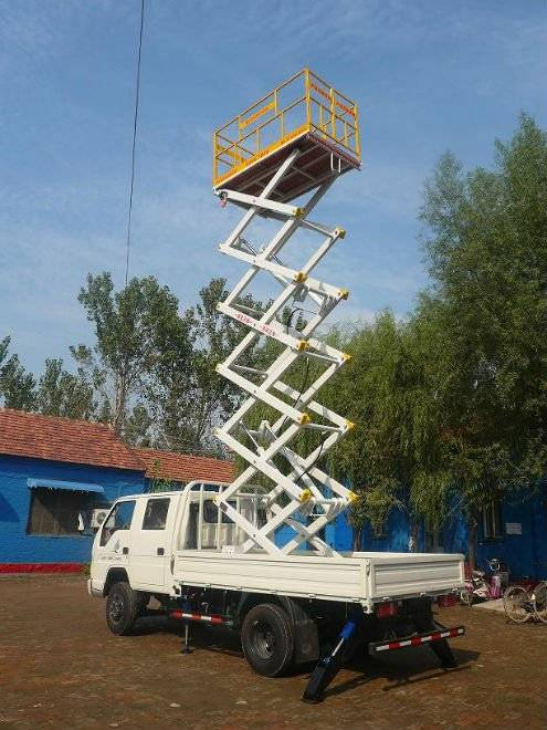 SJPT03-10 Truck mounted elevating platform