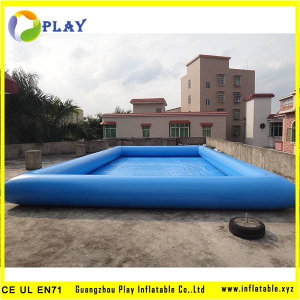 Above ground Outdoor Inflatable Water Pool Made Of Durable PVC Tarpaulin