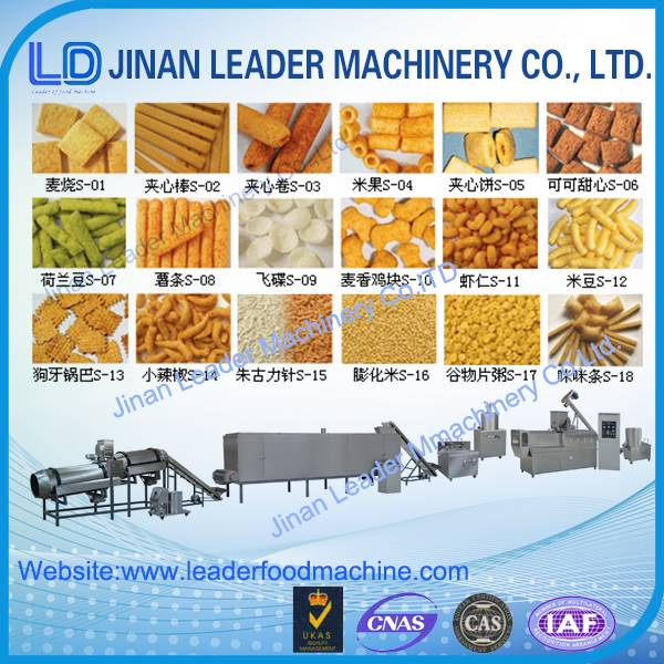 Industrial corn puff extruder machine jinan factory