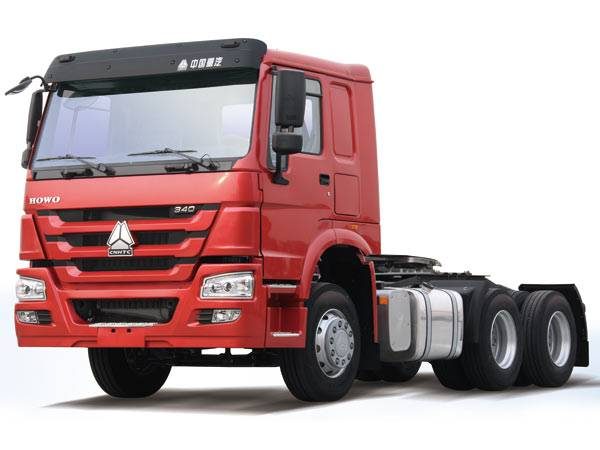 HOWO 6X4 Tractor Truck with Flat Cab 371 HP