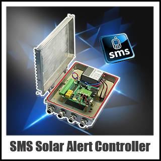Waterproof SMS Alert Controller data logger