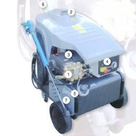 Hot High Pressure Washer