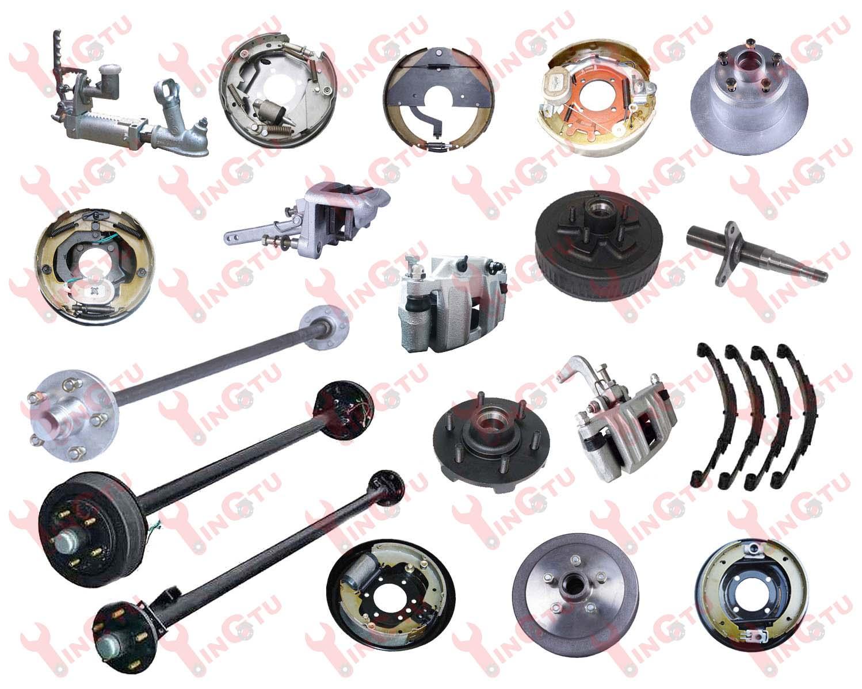 Trailer Repair Parts, Axles, Brakes and Hub Drums