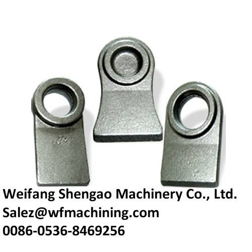 China Foundry Hydraulic Metal Forging Components with Machining