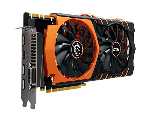 MSI copper heat sink cooler equipped with GeForce GTX 980Ti graphics board GTX 980Ti GAMING 6G GOLDE