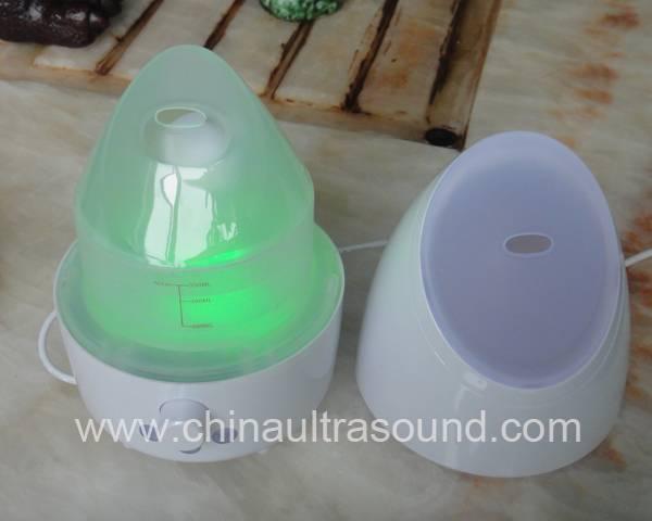 Ultrasonic Aromatherapy Atomizer with Colorful LED Light