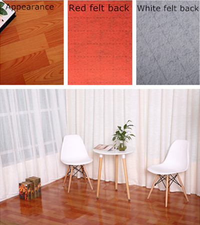Linoleum vinyl flooring
