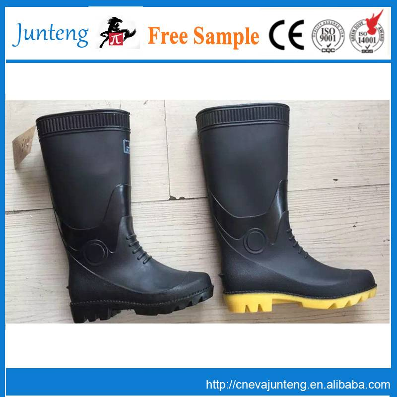 cheap pvc rain boots without steel toe,wellington boots