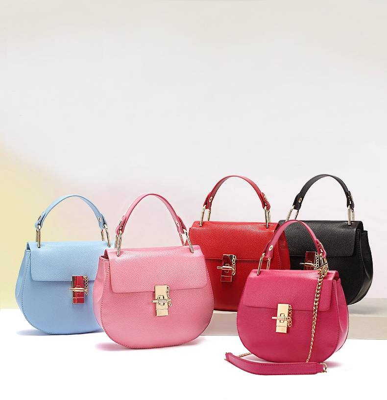 Women's Mini Fashion Single Shoulder Bag Single-shoulder Bag PU Leather Handbag Bolsa Feminina 2015