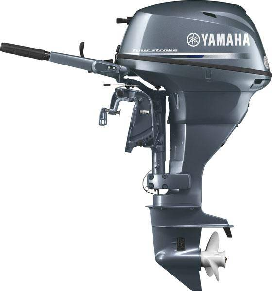 Yamaha f25 25hp 498cc two cylinder four stroke marine for Yamaha 25hp 2 stroke outboard