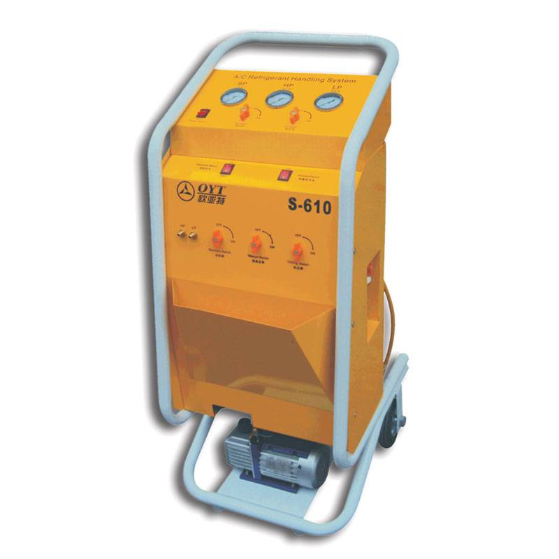 Refrigerant Recovery & Recharging Machine LW-610