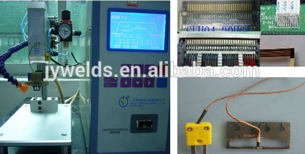 pulse heat bonding soldering machine for pin and wires