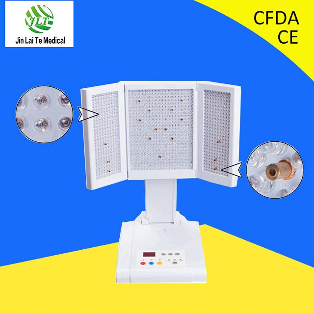 PDT lighting beauty salon machine /blue light therapy acne treatment/red light wrinkle removal