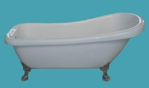 clawfoot bathtub, acrylic bathtub
