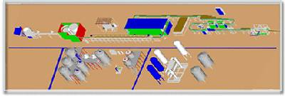 Turn-key project for tea drink, hot-filling drink, bottled water and beverage processing line