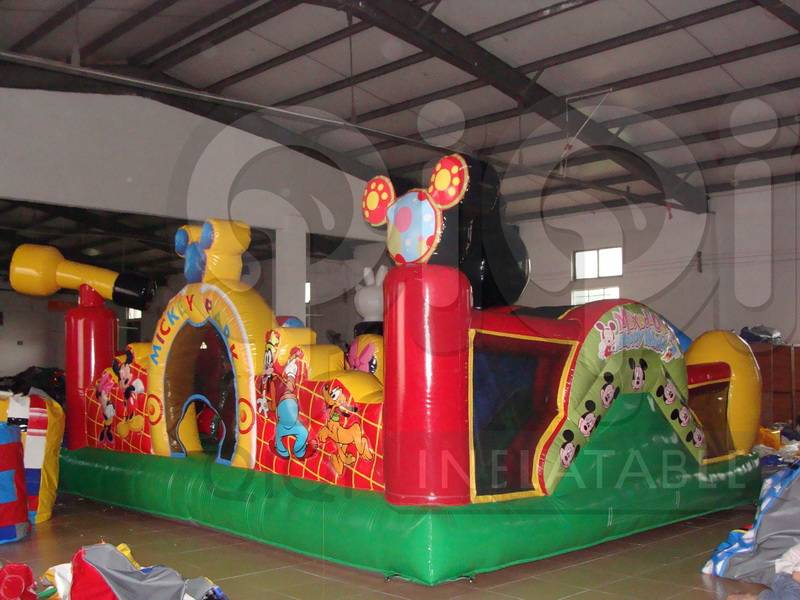 Inflatable Mickey Park for backyard