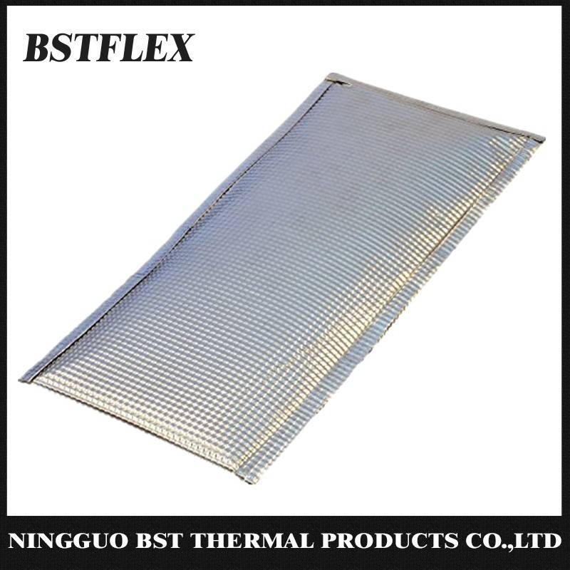 aluminized heat shield