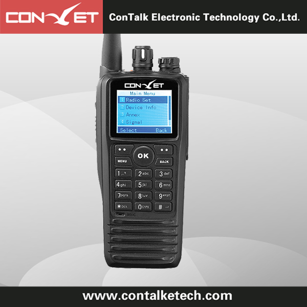 ContalkeTech DMR Digital two way radio CTET-DM300 LCD Display 1000CH 1000 Contacts