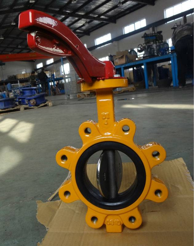General Purpose Rubber Lined Butterfly Valve