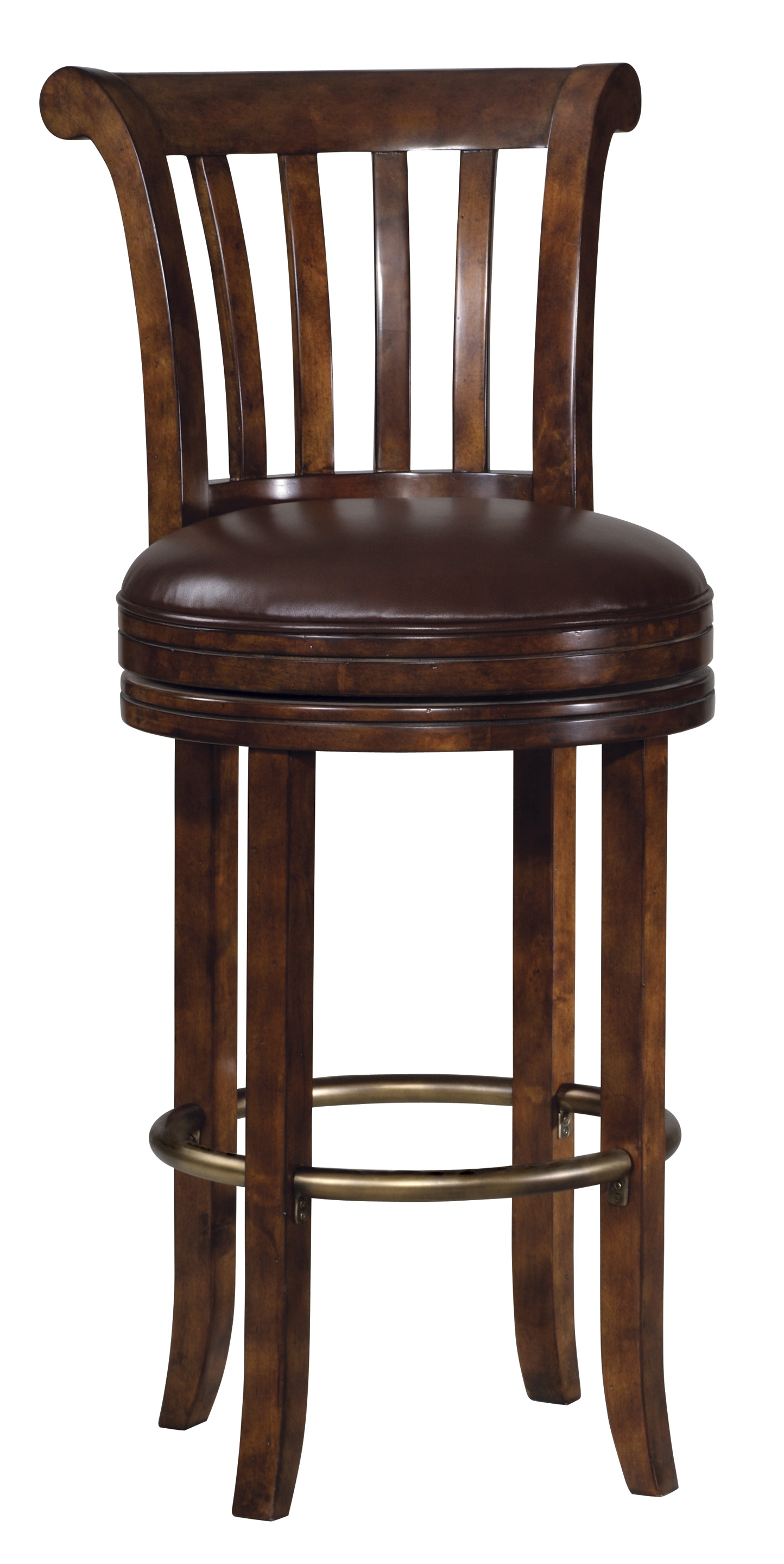 Modern solid Wood Bar Stool
