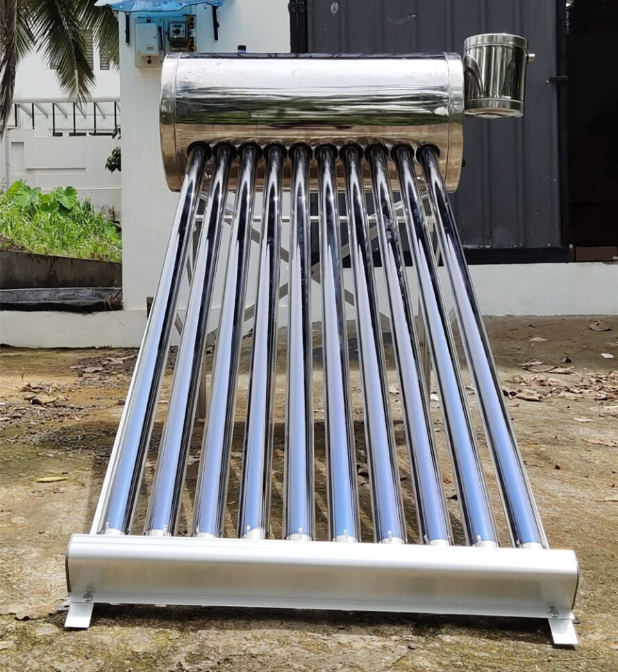 Non Pressure Solar Energy System Hot Water Heating Geyser Solar Water Heater