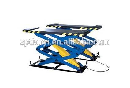 Tianyi In-ground scissor lift/car lift/car hoist/used automotive scissor lift for sale