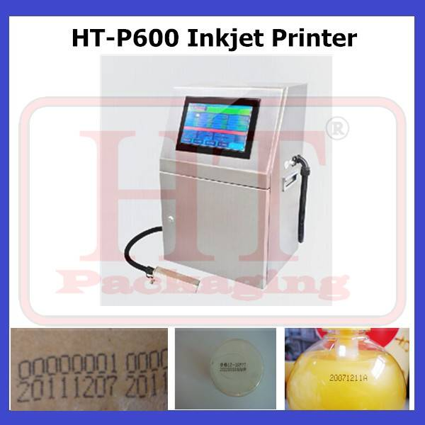 HT-P600 Automatic Bag Inkjet Printer