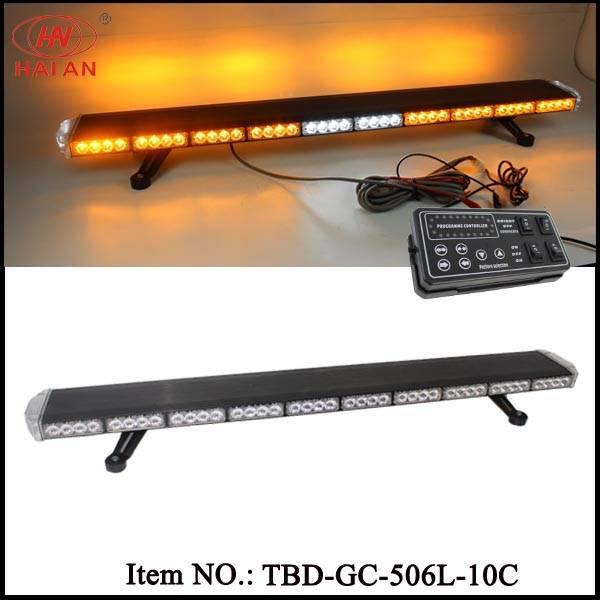China Factory Super Slim LED Bar Light for Emergency Vehicles, Trucks, Ambluance (TBD-GC-506L-10C)