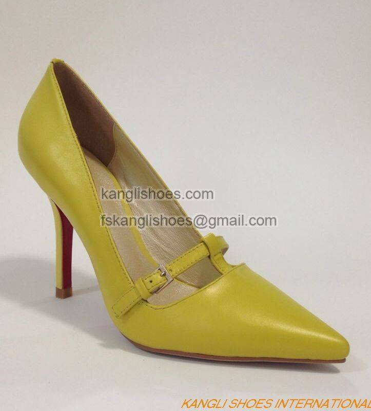SGS Approved Comfort High Heels for Fahion Lady