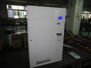 Battery vending machine with retrieve system