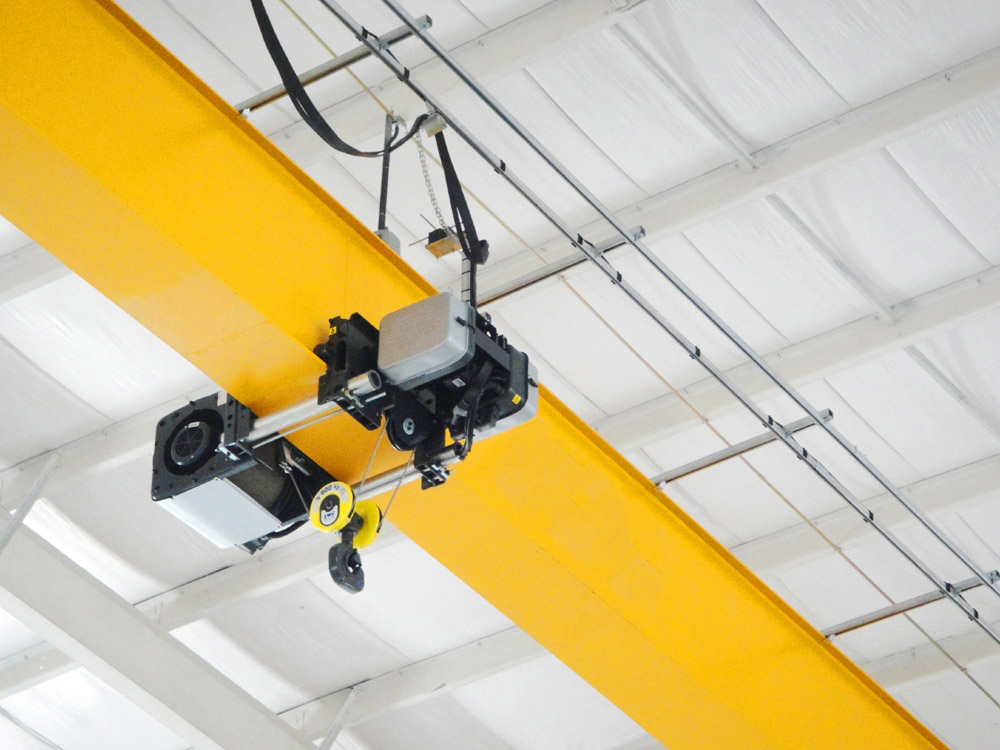 Workshop Small Single Girder Overhead Crane EOT Crane Manufacture