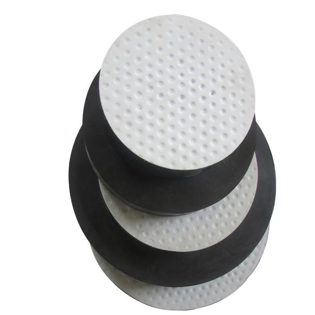 Plain and Teflon laminated elastomeric rubber bridge bearings