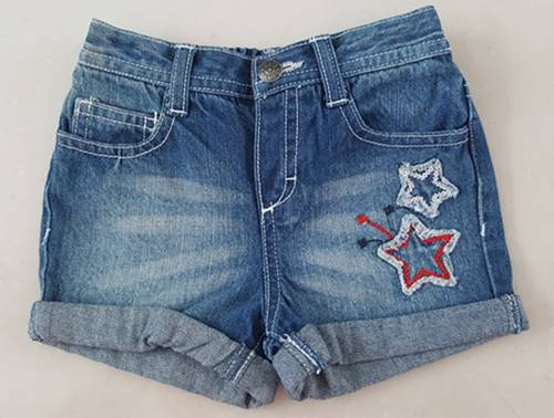 girls jean short