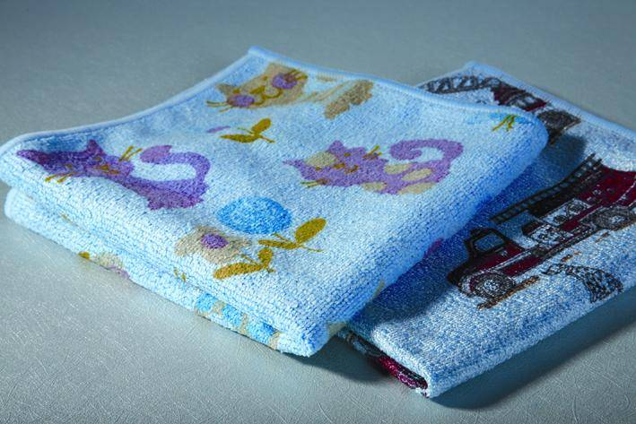Microfiber Printed Terry Cloth