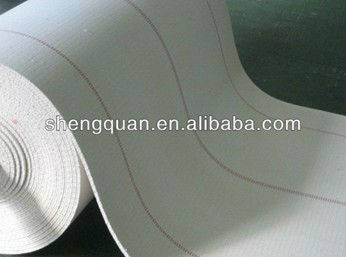 cotton biscuit webbing /Biscuit Conveyor Webbing / Solid Woven Cotton Conveyor Belt