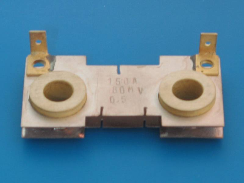 150A 80mV shunt