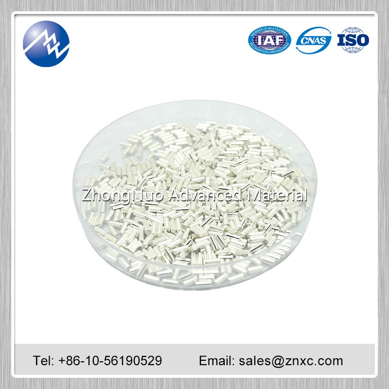 High purity Zinc Zn pellet 99.99%