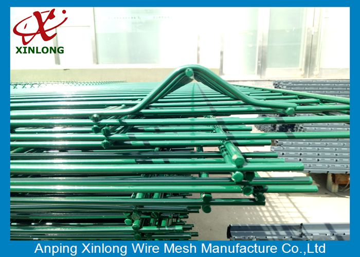 Train Or Bus Station Dark Green 4.5mm 3D Wire Mesh Fence