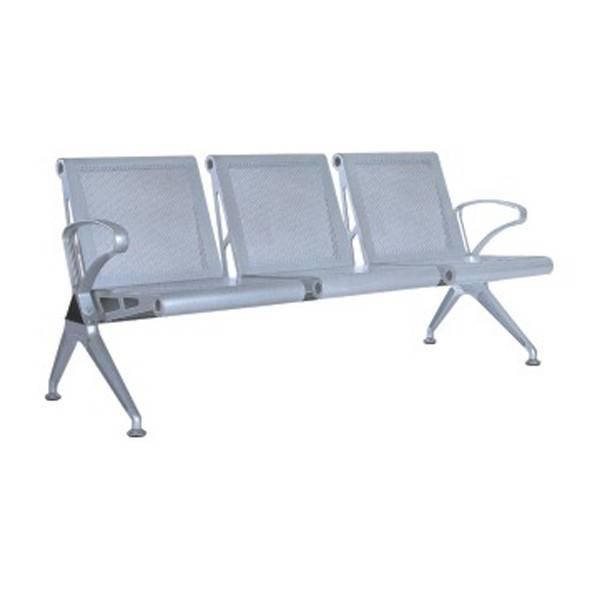 metal waiting chair