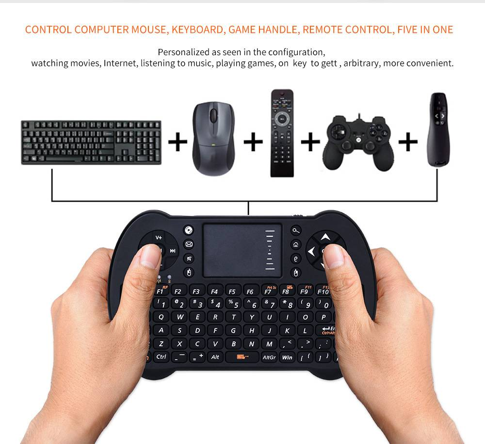 Mini Wireless Keyboard & Mouse