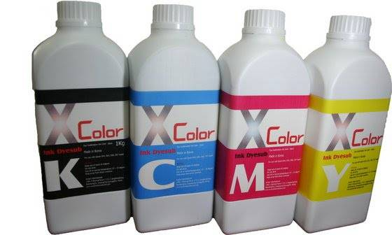 Xcolor Ink FLUORESCENCE / dye sublimation / digital printing / for epson, mimak, roland, mutoh