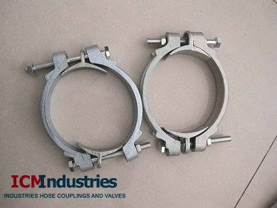Double bolts clamps/SL clamps