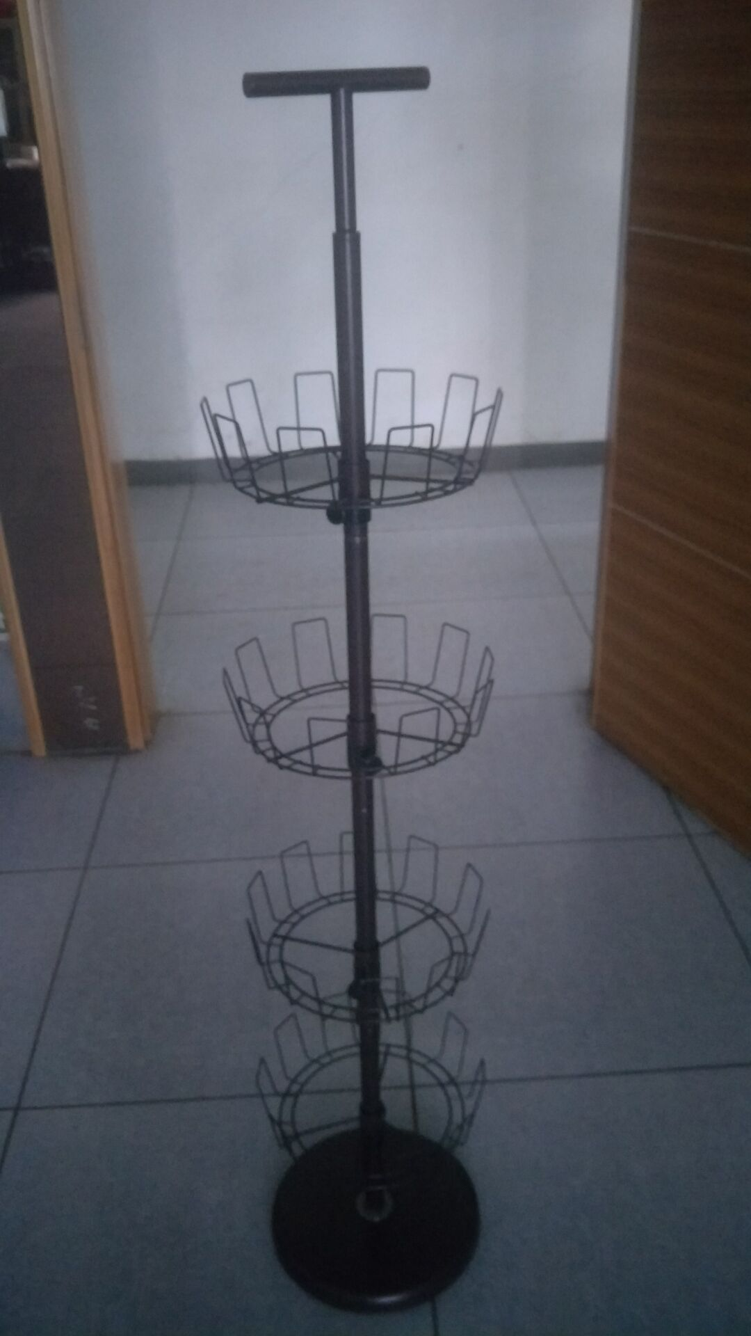 rotating revolving 360 degree shoe rack