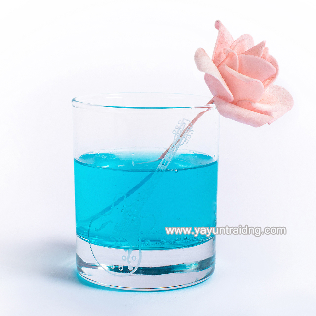 wholesale thick bottom clear water glass cup for five star hotel