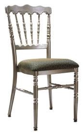 aluminum napoleon/chateau chair